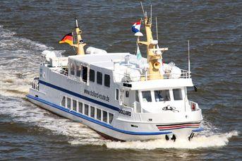 Fahrplan für das Fahrgastschiff Dollard