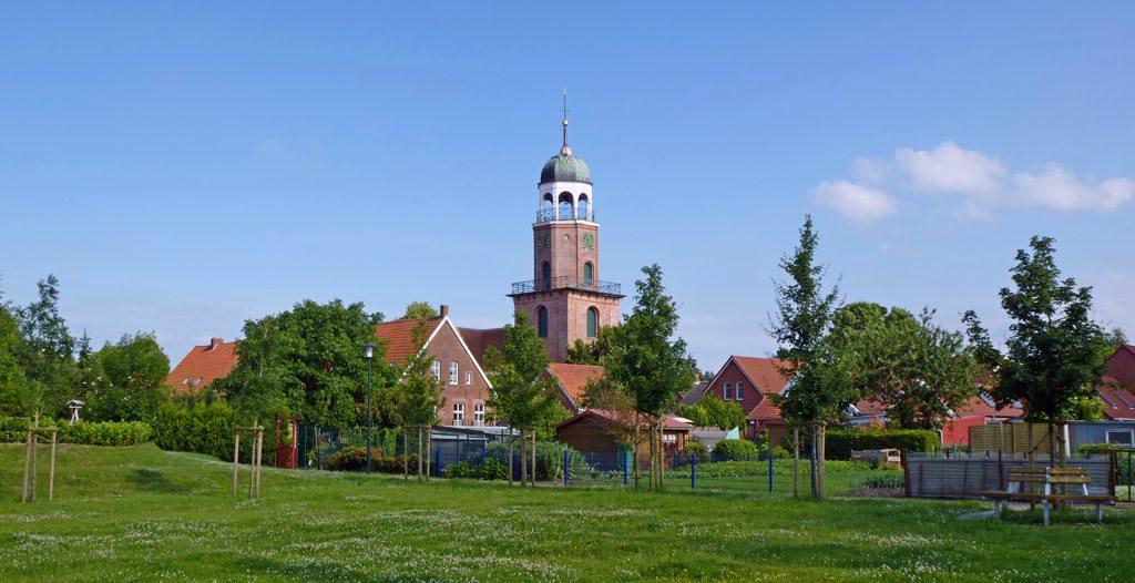 Kirchturm in Ditzum