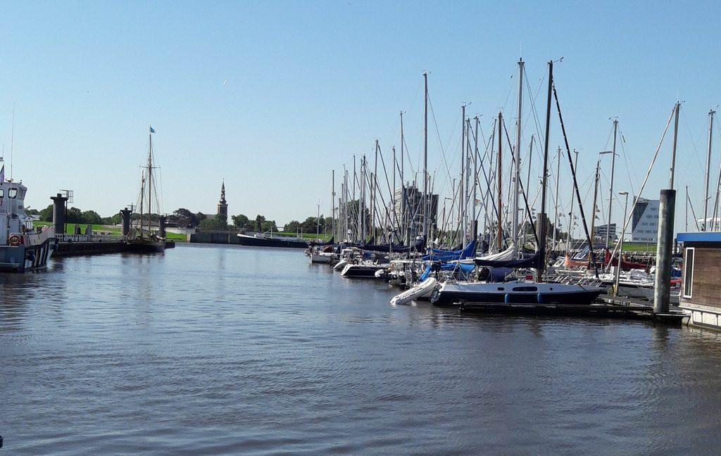 Hafen in Delfzijl