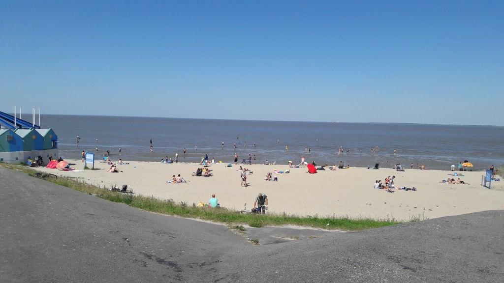 Strand in Delfzijl