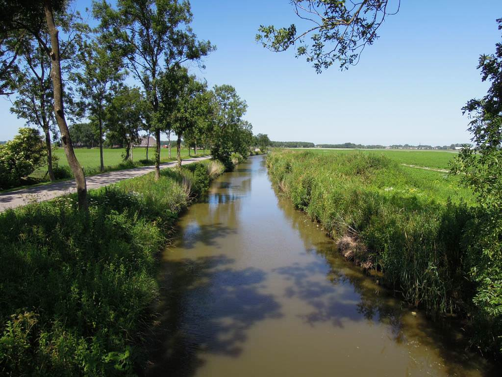 Kanal in Eemsmond