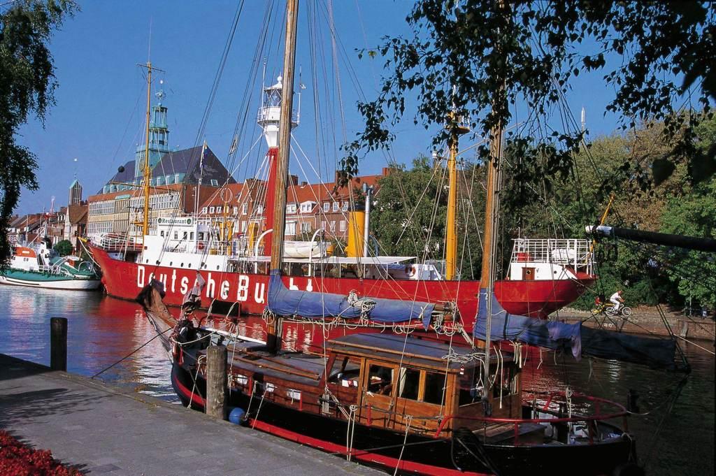 Feuerschiff in Emden