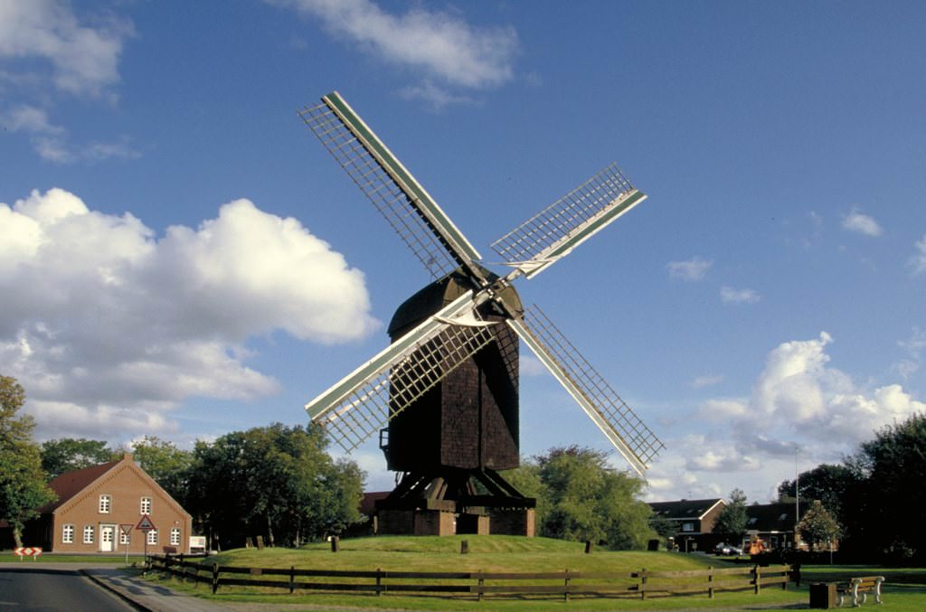 Bockwindmuehle in Papenburg
