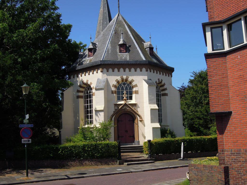 Kirche an der Dollard Route