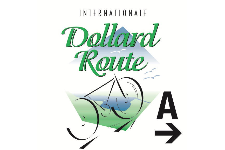 Schild Dollard Route