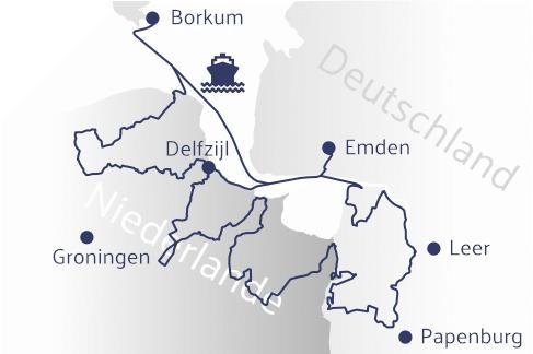 Dollard Route Karte